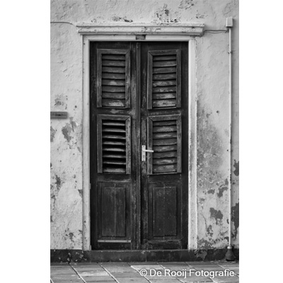 Zwart-Wit Foto Curacao