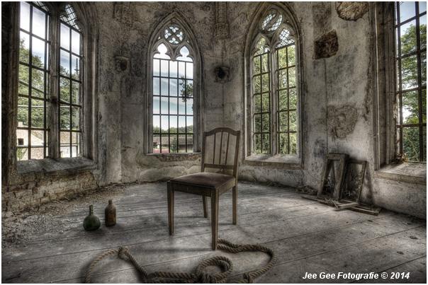 Verlaten gebouwen fotograferen