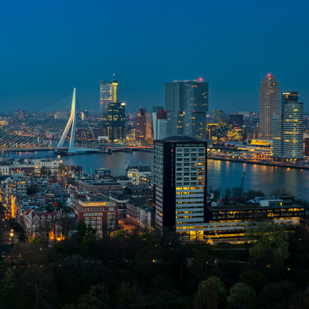 Skyline Rotterdam 2014