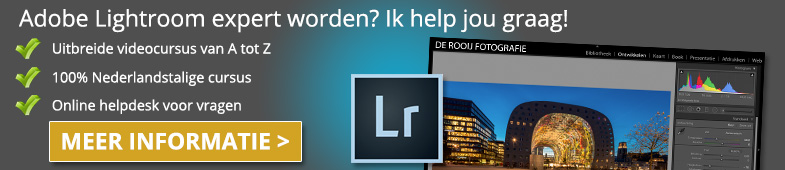 Adobe Lightroom Cursus Online