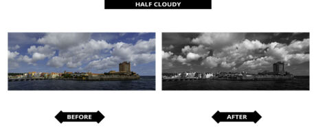 Adobe Lightroom Presets - Half Bewolkt