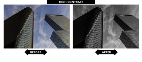 Adobe Lightroom Presets - Hoog Contrast