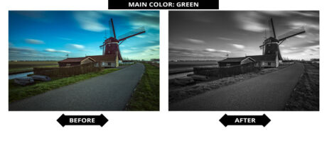 Adobe Lightroom Presets - Groen Filter
