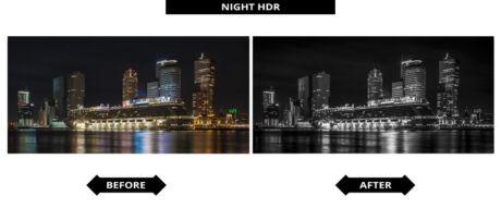 Adobe Lightroom Presets - Nacht HDR