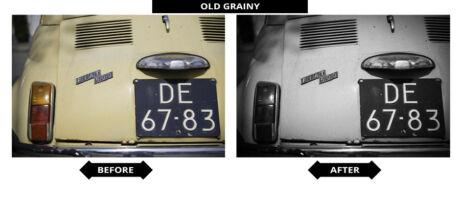 Adobe Lightroom Presets - Old Grainy