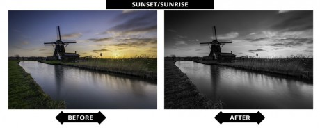 Adobe Lightroom Presets - Zonsopkomst/Zonsondergang
