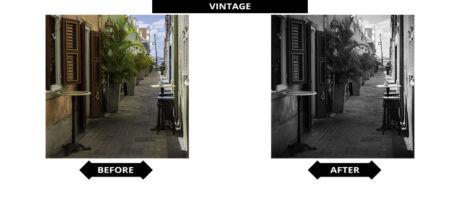 Adobe Lightroom Presets - Vintage