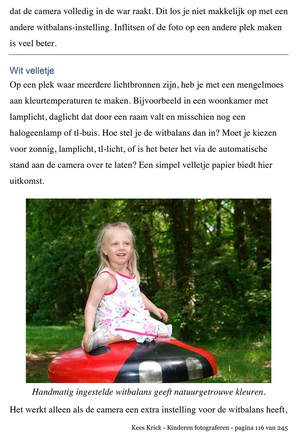 Tips voor Kinderen Fotograferen