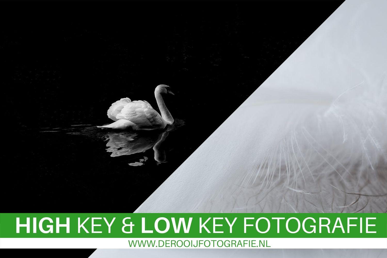 high en low key fotografie