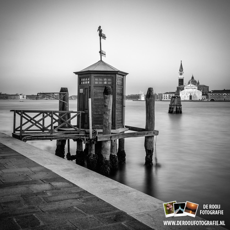 Lange Sluitertijd In Venetië (Zwart-Wit) - De Rooij Fotografie