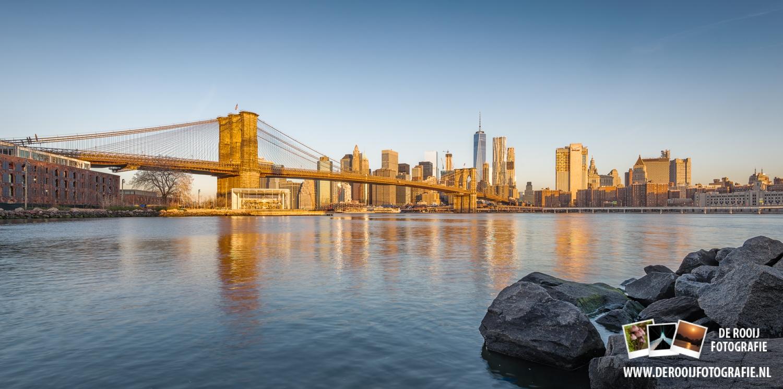 Skyline New York - Zonsopkomst