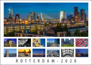 Fotokalender van Rotterdam 2020
