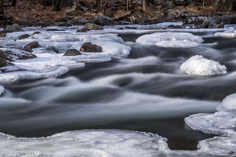 ijswater long exposure foto Will Herlaar