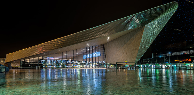 Rotterdam Wanddecoratie - Centraal Station