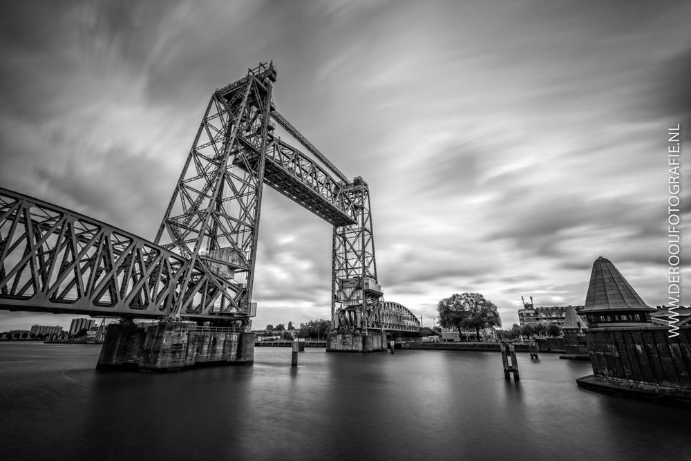 Mooiste Foto's van Rotterdam - Spoorbrug De Hef