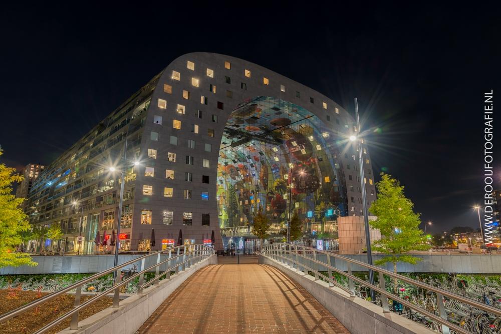 Mooiste Foto's van Rotterdam - Markthal in de Nacht