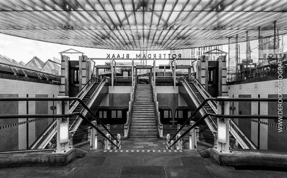 Mooiste Foto's van Rotterdam - Treinstation Blaak