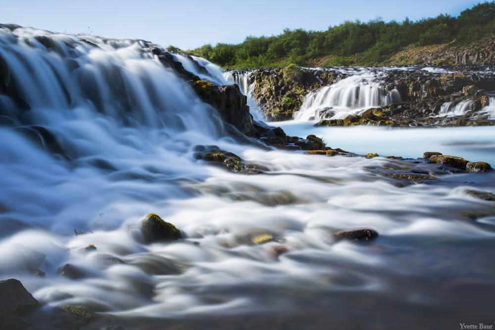 Lange sluitertijd voorbeeld waterval