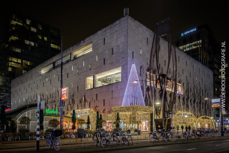 Kerstfoto Bijenkorf Rotterdam
