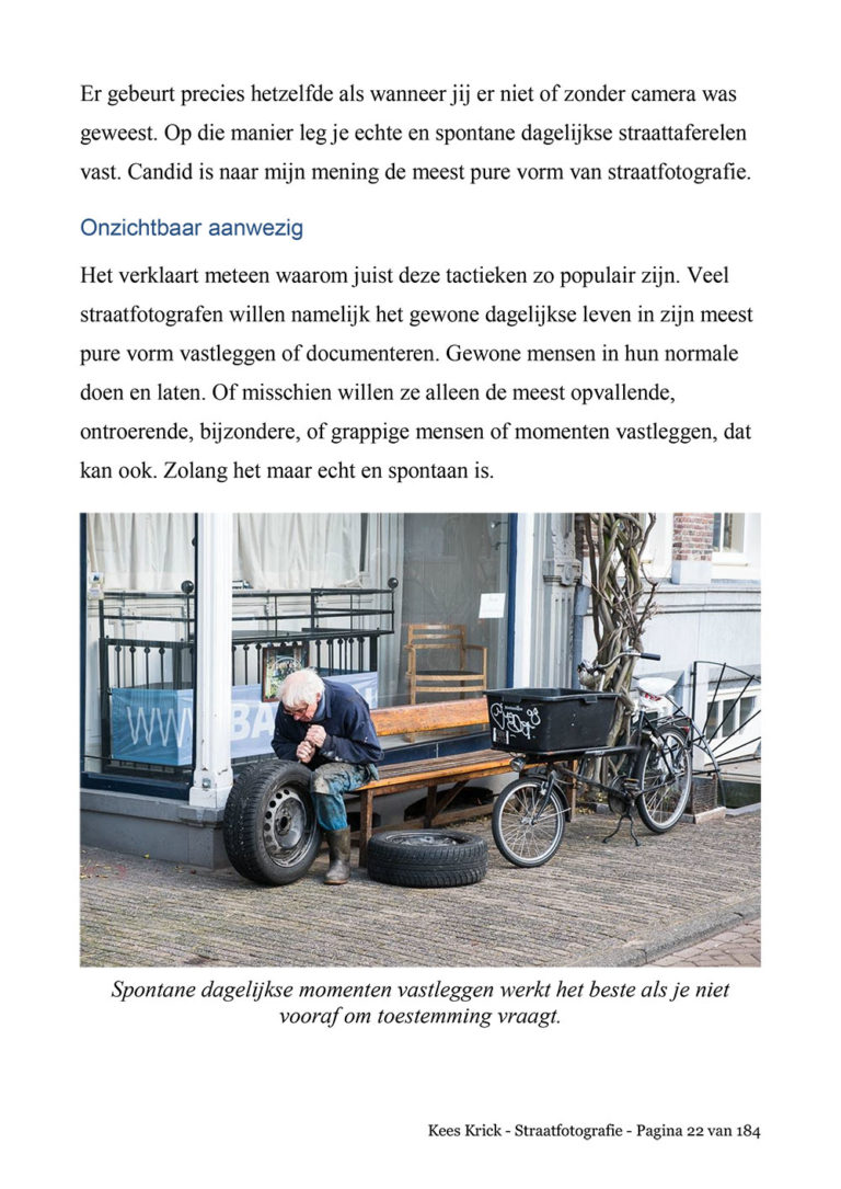 Proefpagina eBook Straatfotografie
