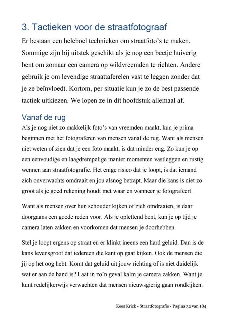 ebook straatfotografie voorbeeld pagina2