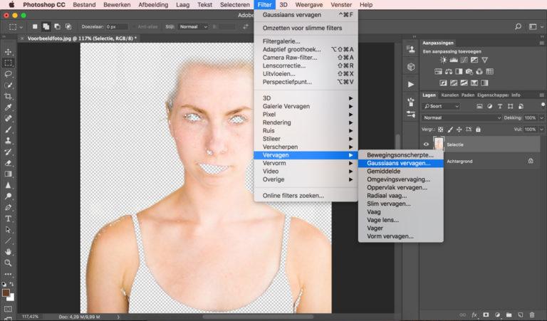 08 photoshop huidskleur aanpassen