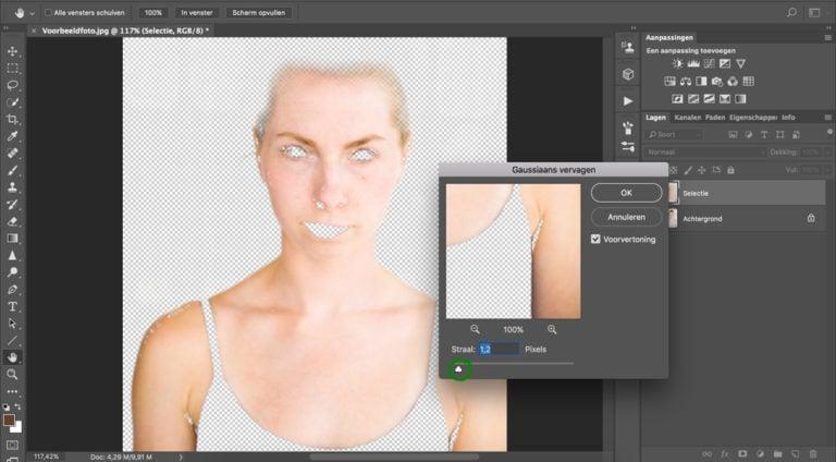 09 huidskleur aanpassen photoshop