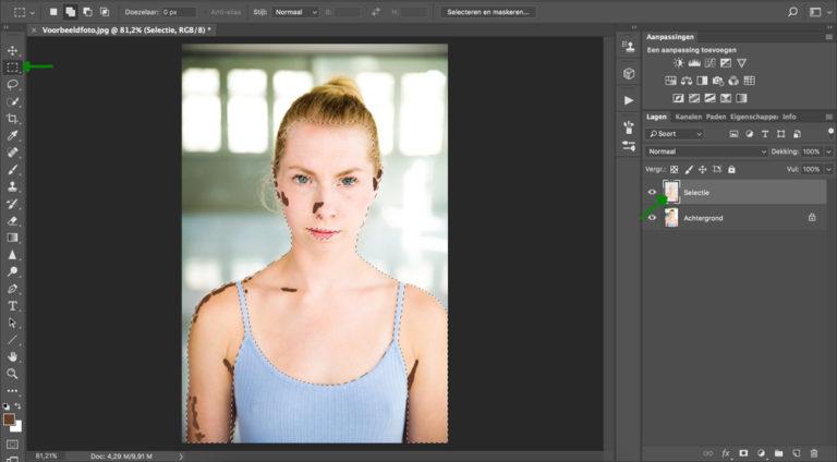 11 huidskleur aanpassen photoshop