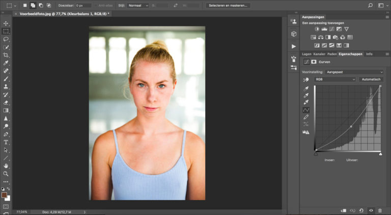 13 huidskleur aanpassen photoshop