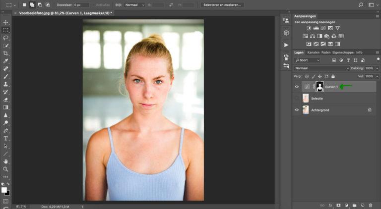 14 huid donkerder maken photoshop