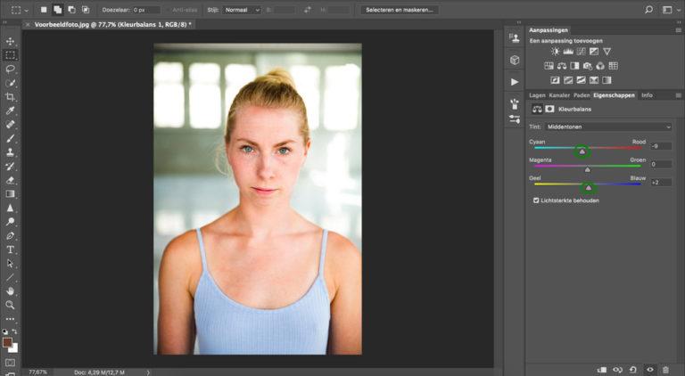 17 huid donkerder maken photoshop