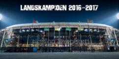 Limited Edition Foto Landskampioen Eredivisie 2016/2017 - Feyenoord
