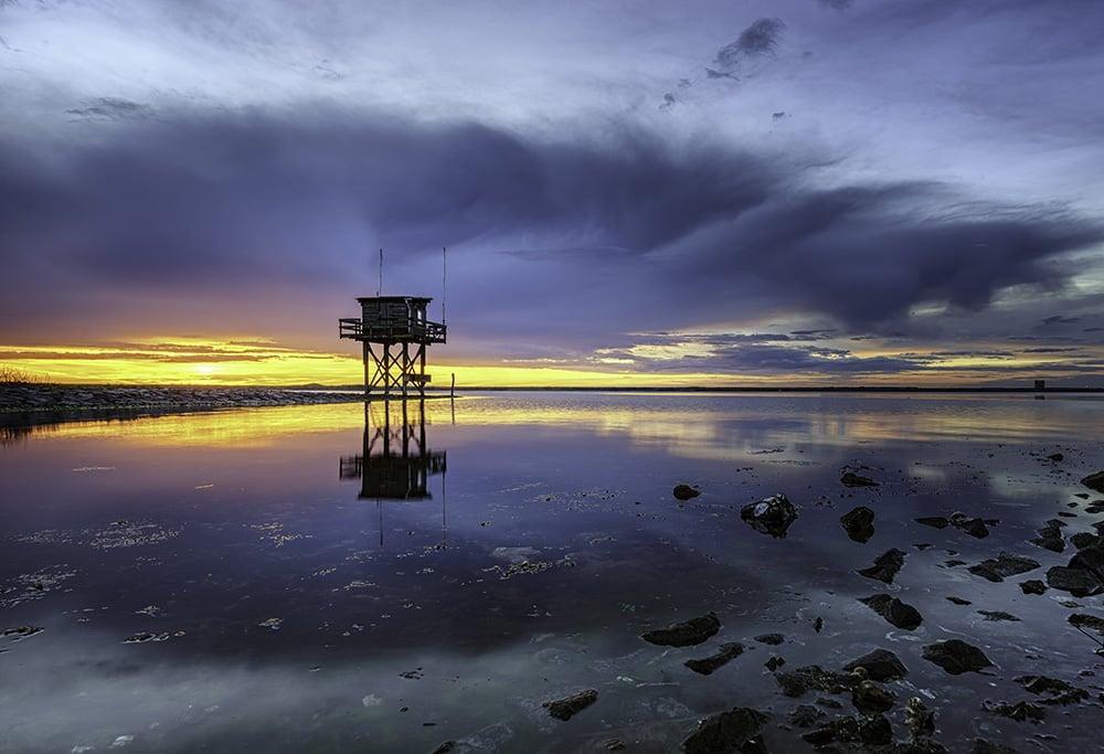 Fotograferen bij het Grevelingenmeer - Zonsondergang