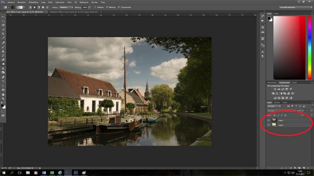 Uitleg exposure blending in Photoshop CC