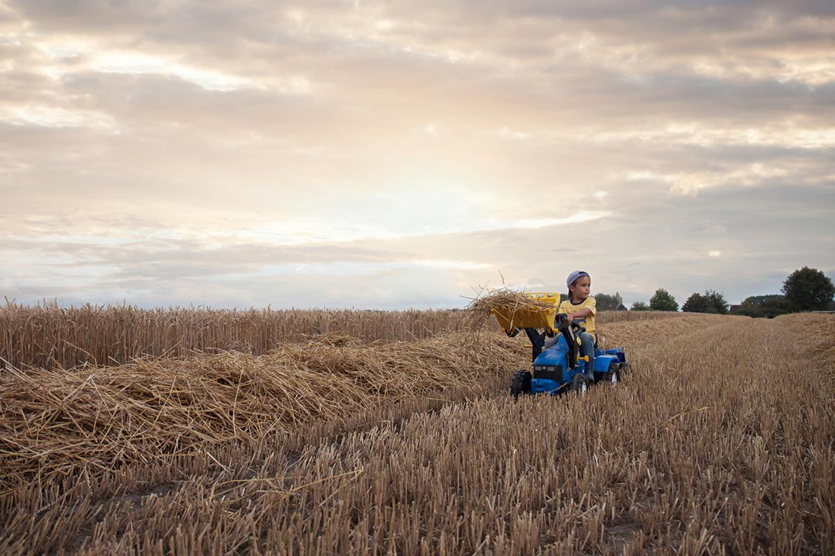 Fotograferen in graanvelden