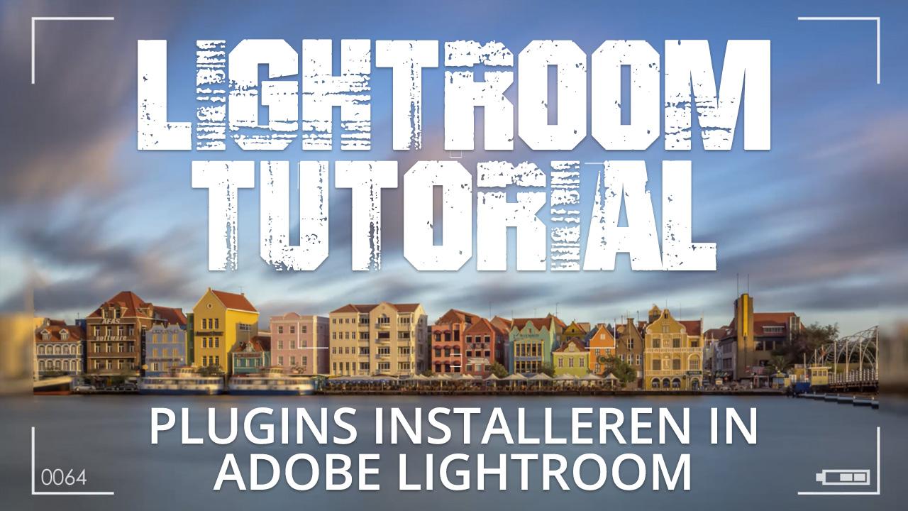 Plugins installeren in Adobe Lightroom CC
