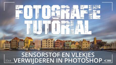 Sensorstof en vlekjes verwijderen in Adobe Photoshop CC