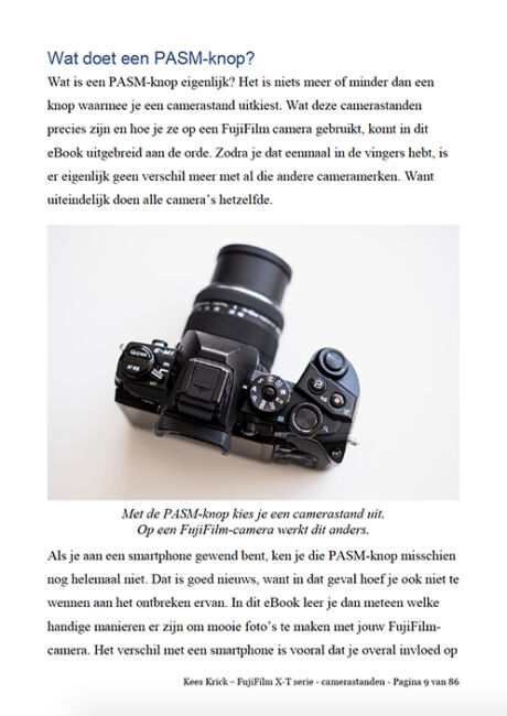 Fuji camera tips