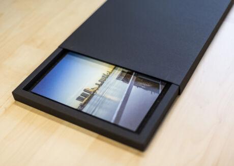 Fine Art Aluminium Foto's van Rotterdam - Kado Box