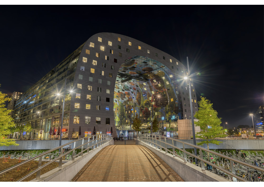 Fine art foto - Markthal in Rotterdam