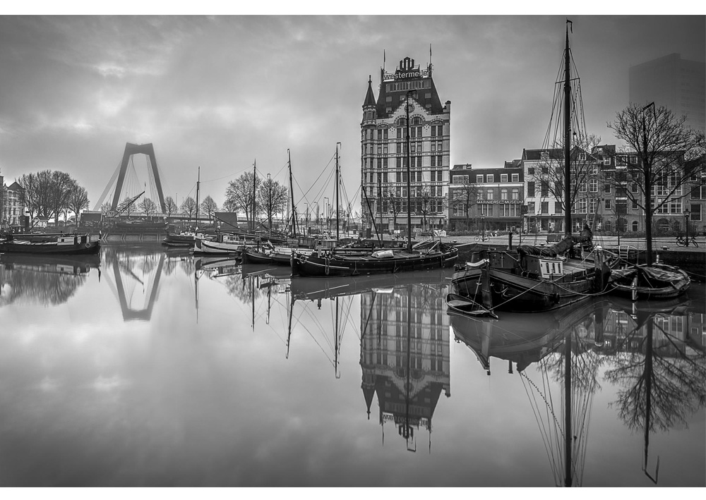 Fine art foto - Oude Haven in Rotterdam