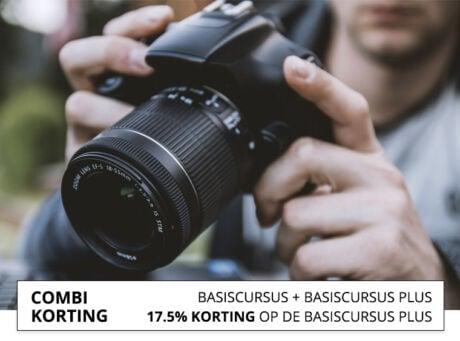 Combi korting fotografie cursus Haarlem
