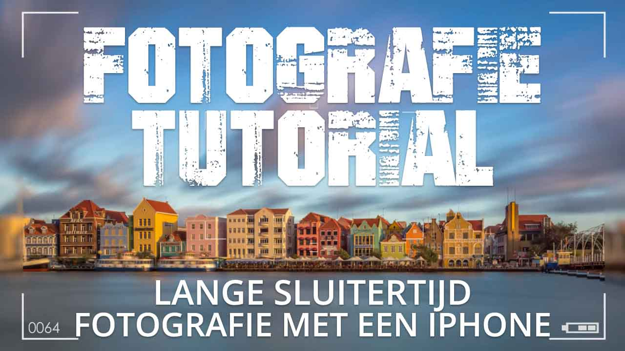 LANGE SLUITERTIJD FOTOGRAFIE MET EEN IPHONE