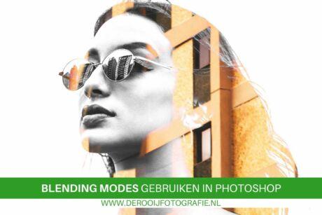 blending modes toepassen in Photoshop