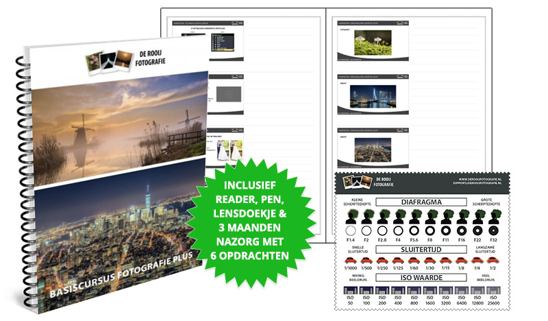 Rotterdam - Beste Vervolgcursus Fotografie - Gratis Extra's