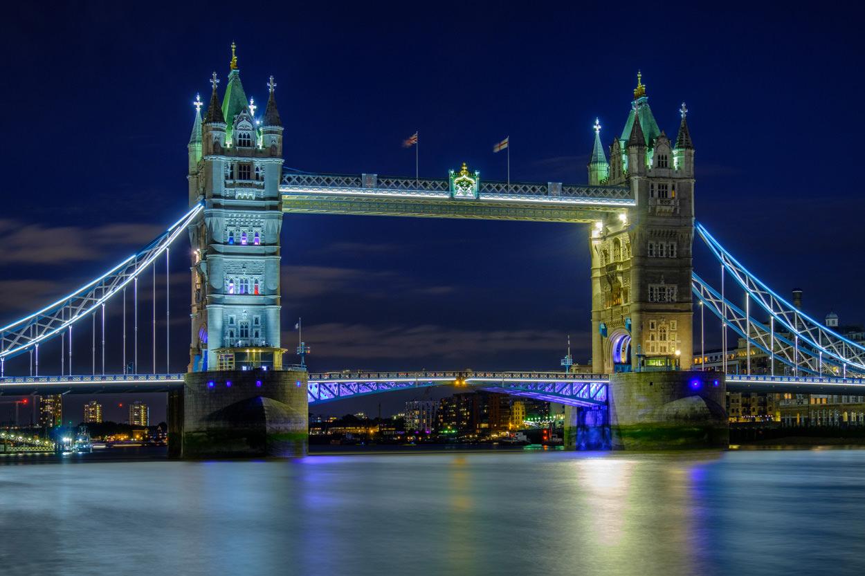 Mooiste foto's van Londen - Tower Bridge in de avond