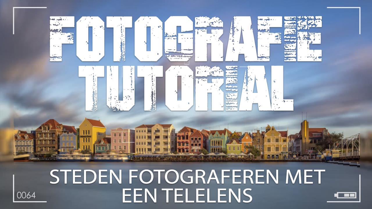 Steden met een telelens fotograferen