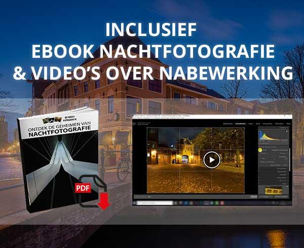 Gratis ebook nachtfotografie tips bij de workshop