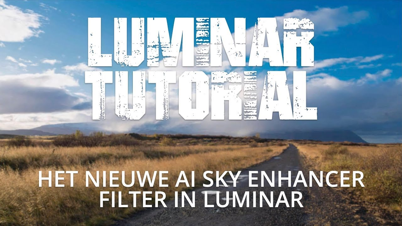 Het nieuwe AI Sky Enhancer filter in Luminar