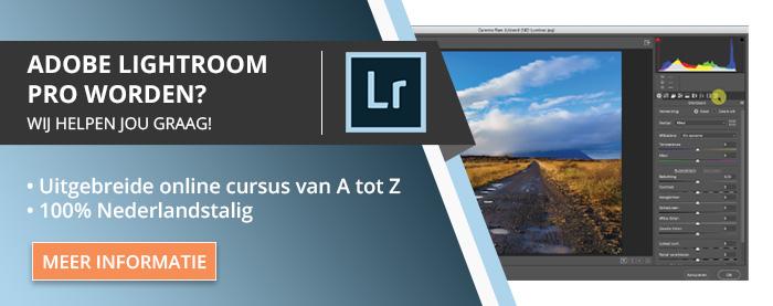 Online Cursus Adobe Lightroom Classic CC